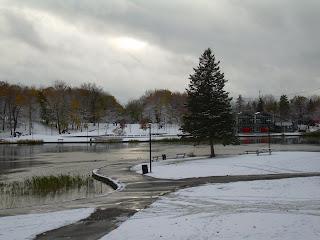 El lago de los castores, Mont-Royal