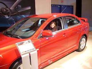 Pasamos a ver un fuerte, el Mitsubishi Lancer