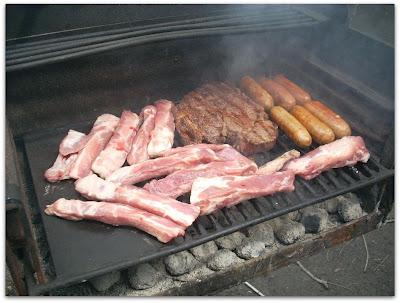 Acomoden la carne