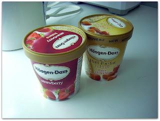 El amigo Häagen-Dazs ¡flor de helado!
