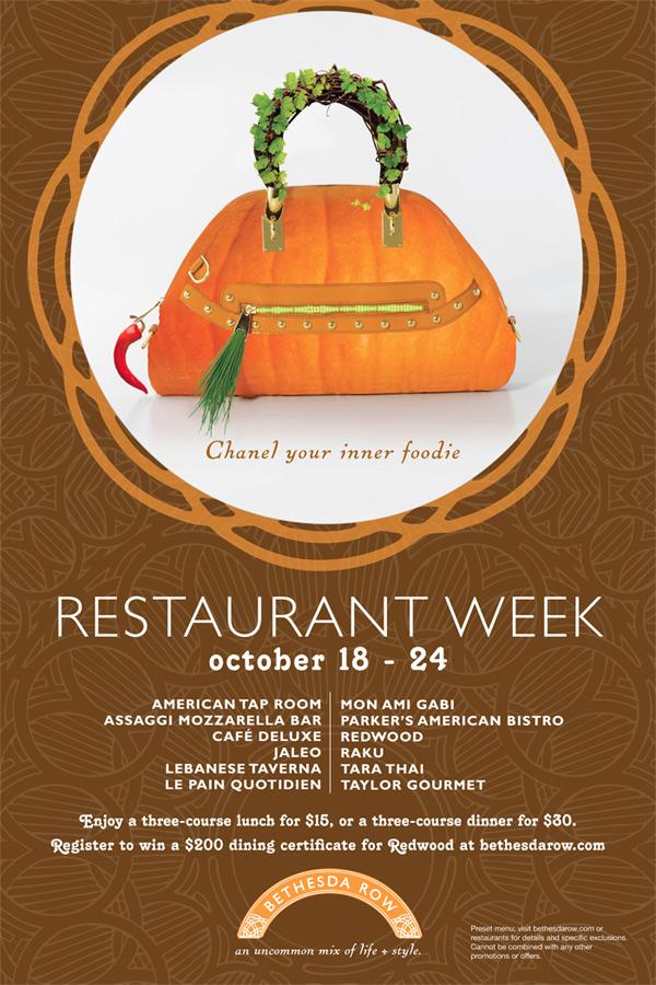 Bethesda Restaurant Week Fall