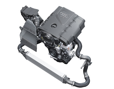 2.0 TFSI four cylinder engine with Audi Valvelift system and FSI direct injection (211 hp / 258 lb-ft) for Audi A4 sedan/Avant, A5 coupe and Cabriolet