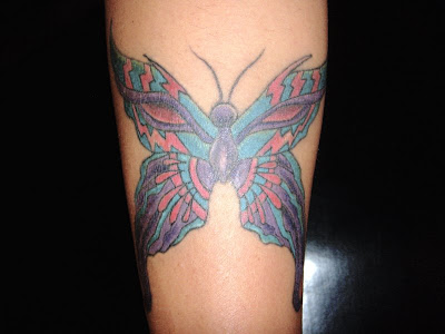butterfly ankle tattoos. Custom utterfly tattoo