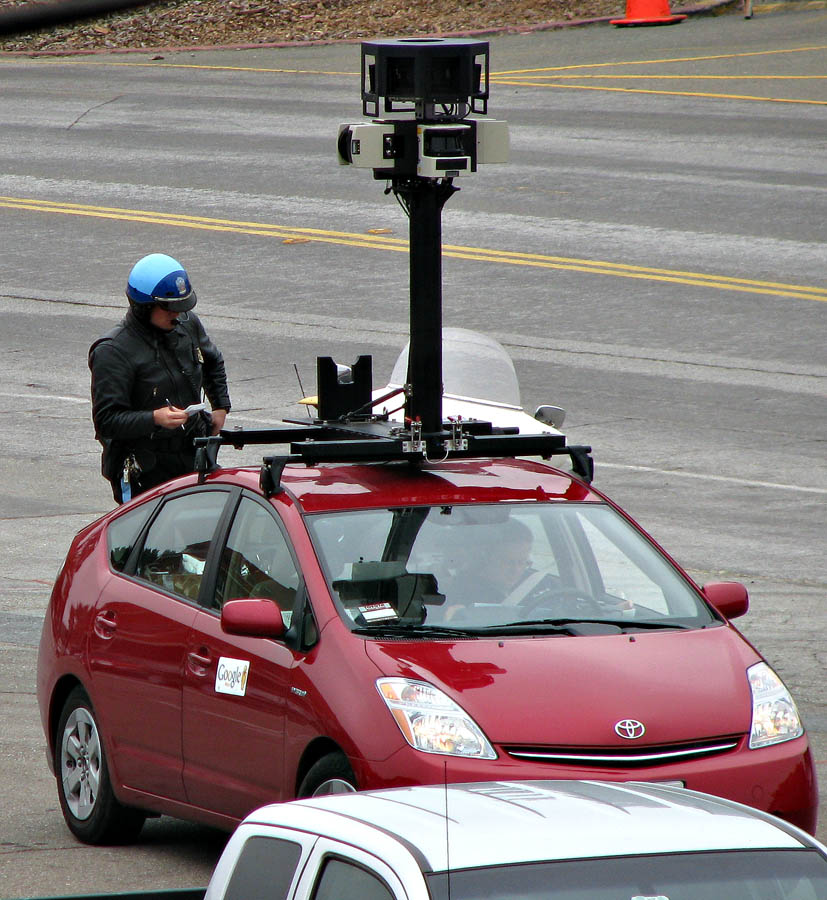 google maps vehicle
