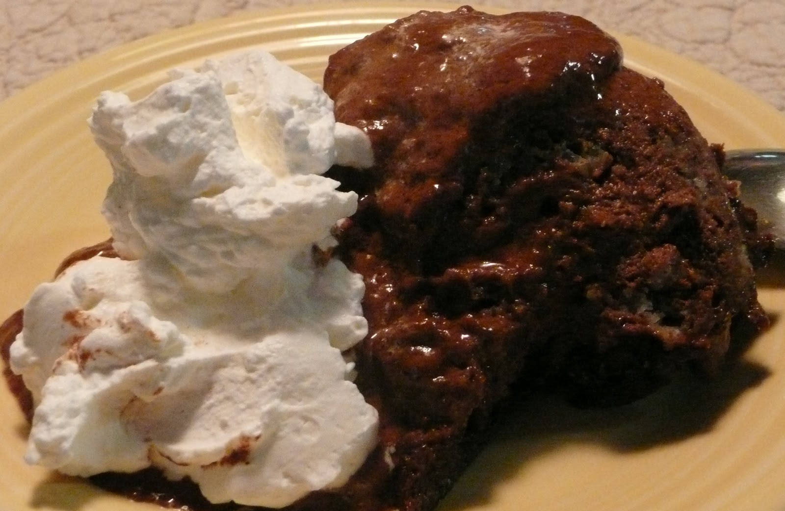 FROM A WRITER'S KITCHEN: Snow and a Chocolate Bread Pudding