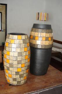 Escaparate jarrones decorativos for Jarrones decorativos grandes