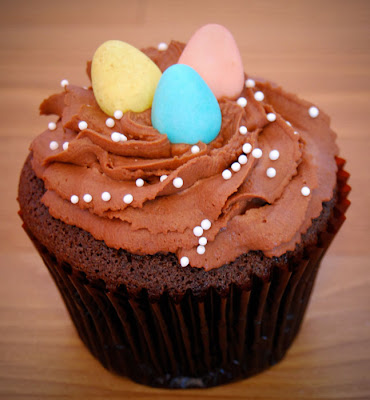 easter cupcakes recipes. A chocolate butter cake recipe
