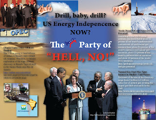 democrat party says hell no to real energy independence