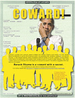 obama is a coward