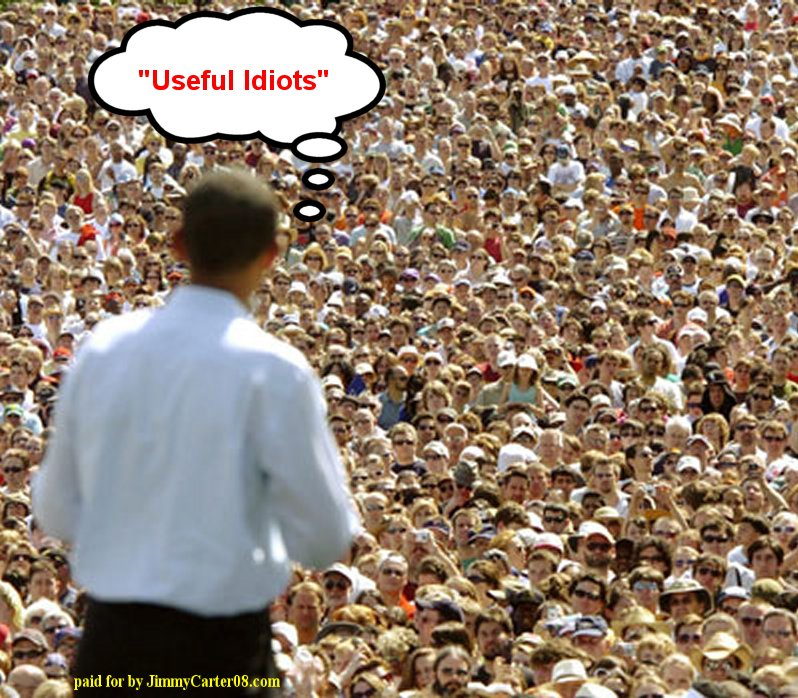 Obama s useful idiot