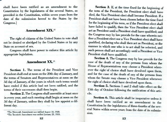 20th amendment,