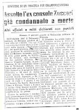 """""""GIORNALE DELL' EMILIA"""" 12 GENNAIO 1950"""