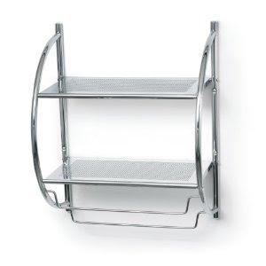 Bathroom Accessories Polder 90 05 Double Bathroom Shelf