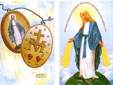 27 de Noviembre: Virgen Milagrosa
