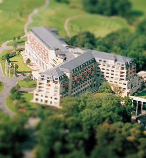 Celtic Manor tilt Shifted