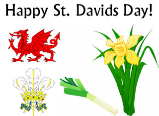 Happy Saint Davids Day