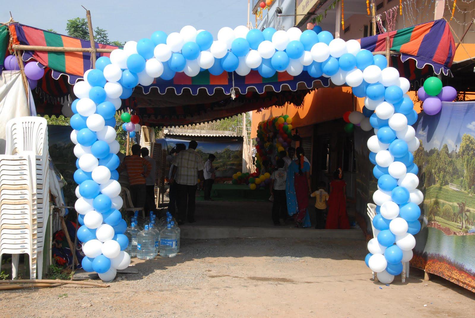 Charvitha gogineni decorations 2 for Annaprasana decoration