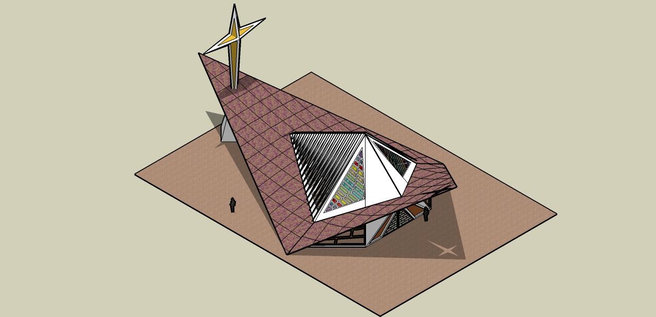 capilla de la sma trinidad geometria descriptiva ii