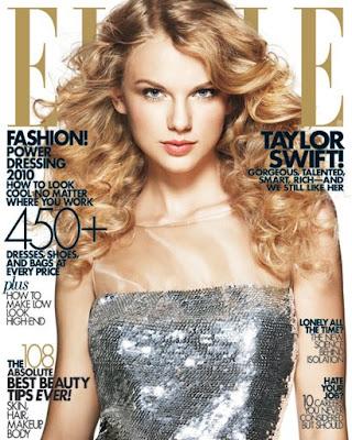 Taylor Swift ELLE Cover April 2010