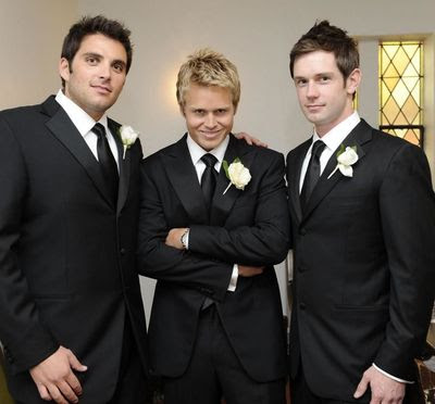 Spencer Pratt and his Groomsmen