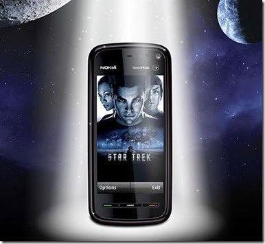 "Nokia 5800XM ""Star Trek"""