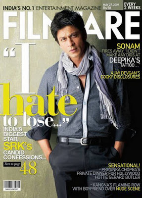 Shahrukh Khan Filmfare Magazine