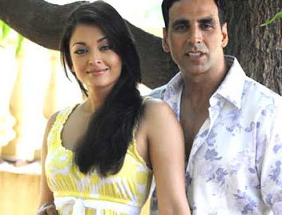 Akshay Kumar and Aishwarya Rai in Action Replay