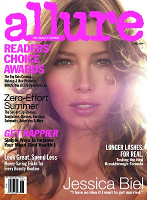 Jessica Biel Allure Magazine June 2009 Cover