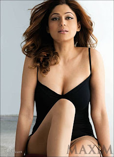 Shamita Shetty sizzles on Maxim India - June 2009