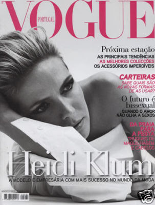 Heidi Klum Vogue Magazine August 2009