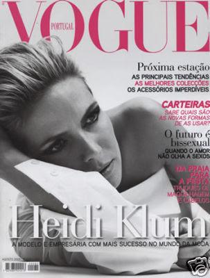 Heidi Klum Vogue Magazine August 2009