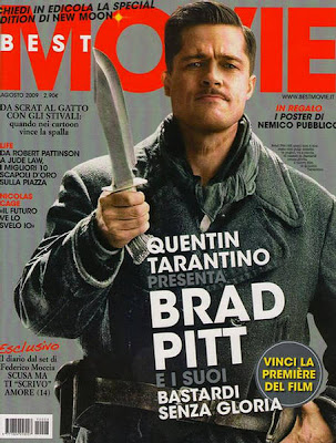 Brad Pitt Best Movie Magazine Italy August 2009
