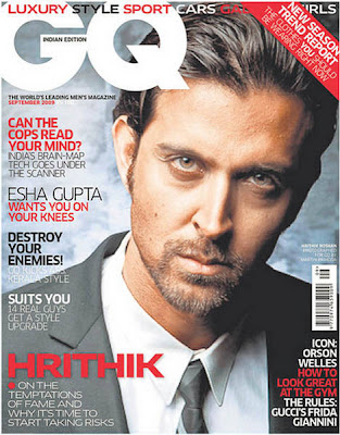 Hrithik Roshan GQ India September 2009