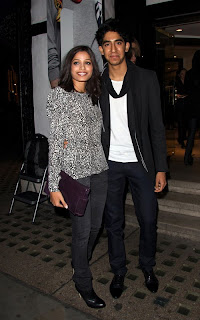 Freida Pinto and Dev Patel's Night Out in London