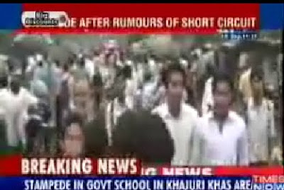 5 girls killed in Delhi school stampede