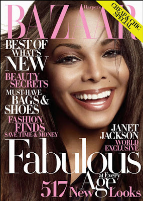 Janet Jackson Harper&#8217;s Bazaar US October 2009 