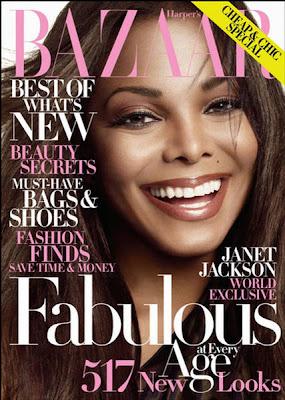 Janet Jackson Harper's Bazaar US October 2009