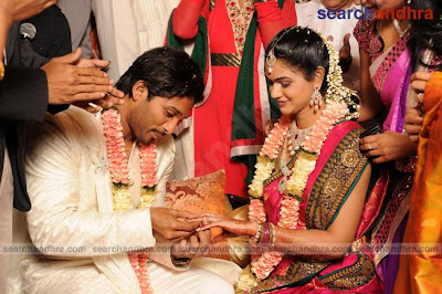 Allu Arjun Engagement Photos