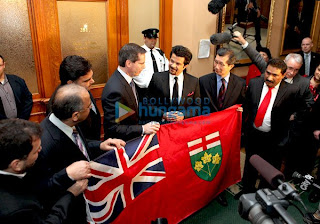 Anil Kapoor at Premier McGuinty