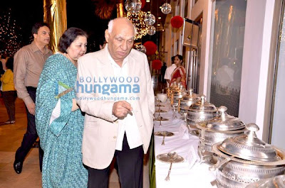Yash Chopra, Ashmit Patel and others at Blue Sea Food Festival