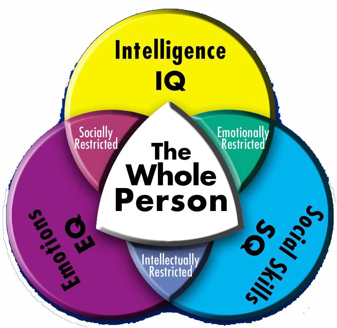 smagoyennie2ia2ii: IQ, EQ, and SQ