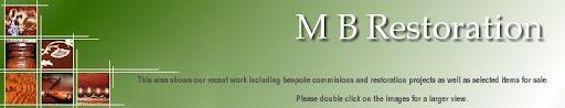 M B Restoration - Items for Sale