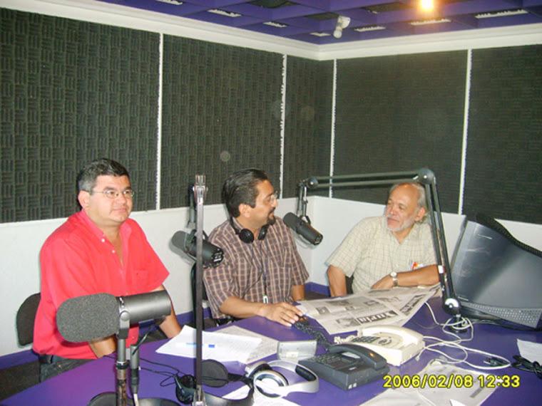 """En el programa radiofónico Palabra Libre"""""""