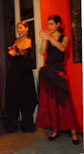 Bailando Flamenco