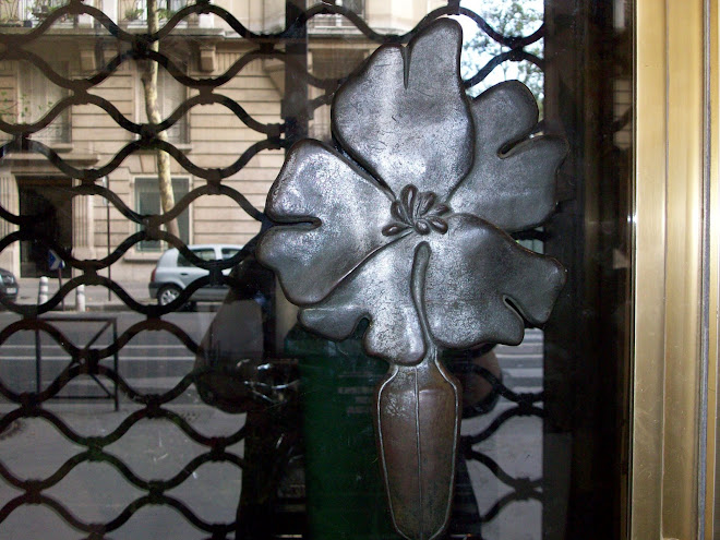 Fabulous Door Knob on Florist Shop
