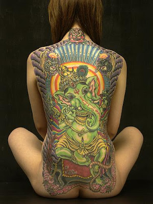 Photo: Ganesha Tattoo, Harizanmai. When I first laid eyes on Manish Arora's