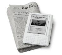 Amazon's Kindle, image from Amazon.com