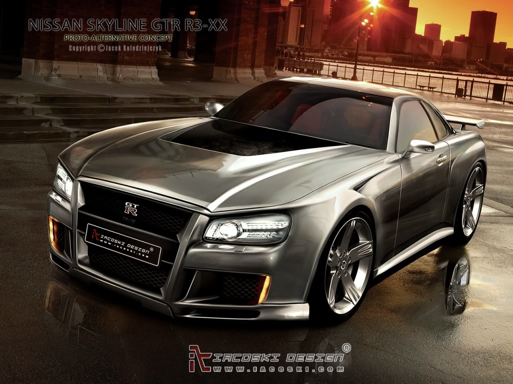 concepts car and skyline - photo #18