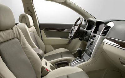 Chevrolet Captiva Gallery. Chevrolet Captiva Interior