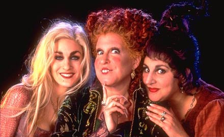witches hocus pocus horror sprinkle salt bed
